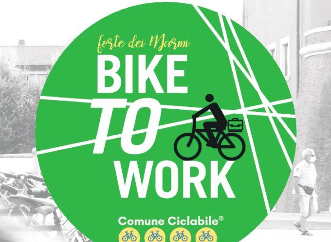 """Il Comune di Forte dei Marmi sempre più a due ruote: pubblicato il bando """"Al lavoro in bici -Bike to work""""."""