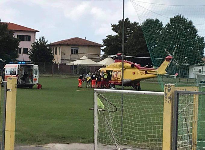 Incidente nella Valle del Serra – Cade mentre percorreva un sentiero di montagna. con pegaso a cisanello
