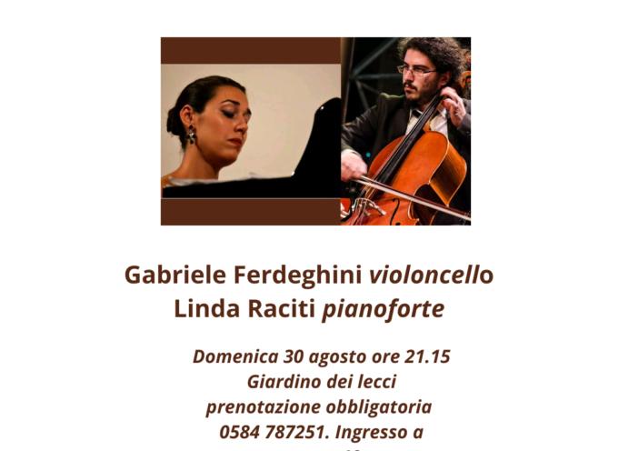VILLA BERTELLI – Il Duo Cordeunite al primo appuntamento di Sentieri Musicali