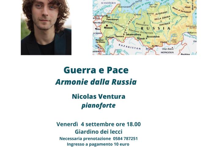 Il pianista Nicolas Ventura alla rassegna L'altra Villa