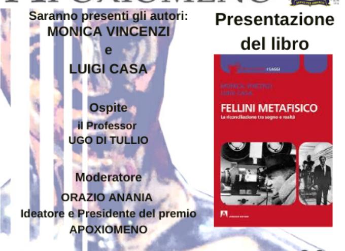 Fellini Metafisico A Villa Bertelli la presentazione del libro,