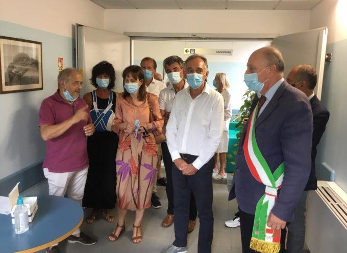 """inaugurati al """"Campo di Marte"""" di Lucca i 14 nuovi posti letto di cure intermedie"""