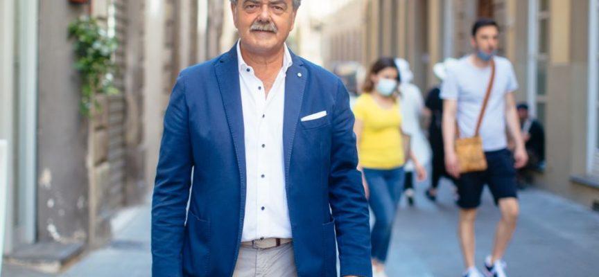 Salvini lancia la campagna di Marchetti ad Altopascio