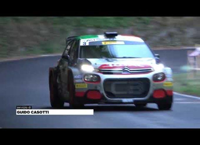 Il Rally del Ciocco dà spettacolo: un grande Crugnola trionfa su Basso