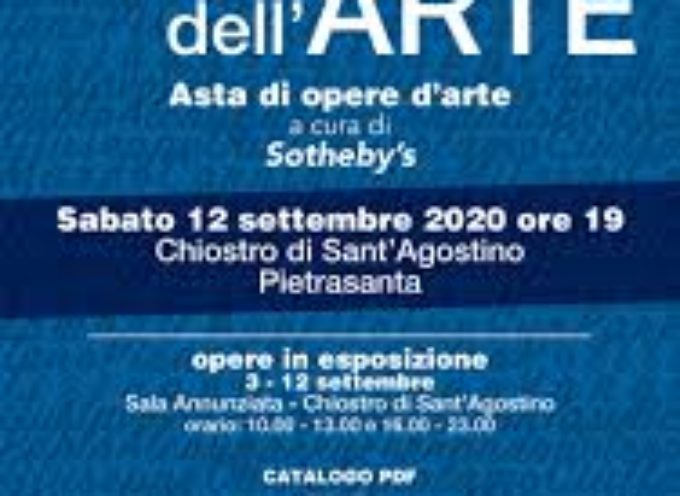Il grande dono dell'arte, asta benefica internazionale con Sothesby's per Ospedale Versilia con opere Botero,