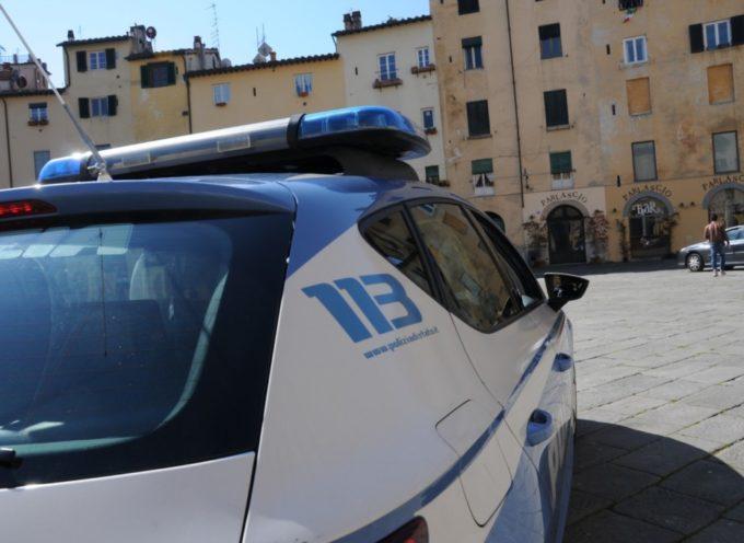 La Polizia denuncia tre giovani per resistenza e furto