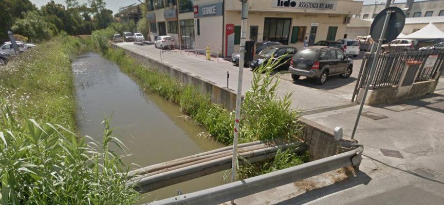 il Consorzio Bonifica costruisce nuovi argini sul Teso Trebbiano