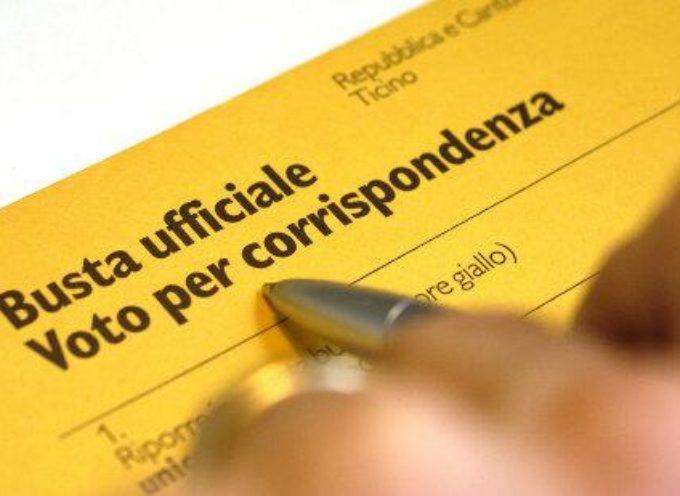 entro il 19 agosto gli elettori temporaneamente all'estero possono optare per il voto per corrispondenza in occasione del referendum di settembre
