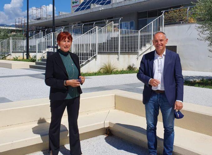 Il sindaco Luca Menesini ha incontrato il nuovo questore di Lucca Alessandra Faranda Cordella