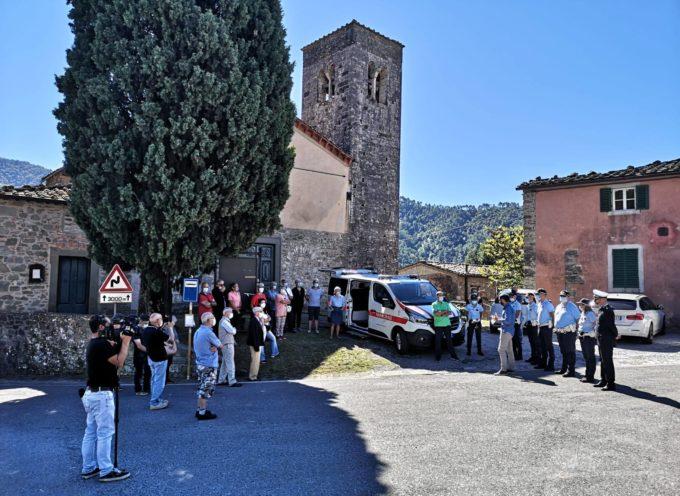 Questa mattina abbiamo inaugurato a S.Ilario di Brancoli il nuovo ufficio mobile della Polizia Municipale