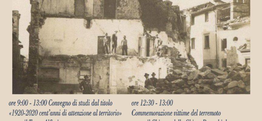 quando la terra tremo'  era il 1920