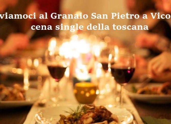 TROVIAMOCI E CONOSCIAMOCI…la cena dei single della toscana!