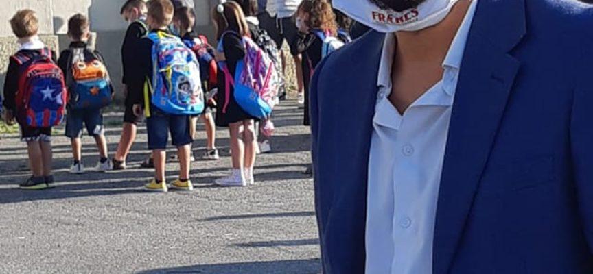 PATRIZIO ANDREUCCETTI – Il primo giorno di scuola è andato molto bene.