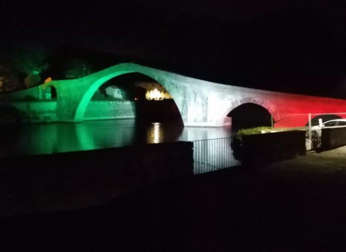 Ieri sera abbiamo provato le nuove luci al Ponte del Diavolo.