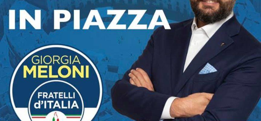 """VITTORIO FANTOZZI – Una chiusura di campagna """"alla vecchia maniera"""" nelle piazze tra la gente."""