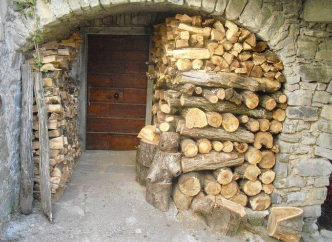 La legnaia….