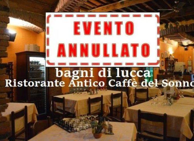 la Cena dei Single a Bagni di Lucca –  ANNULLATA