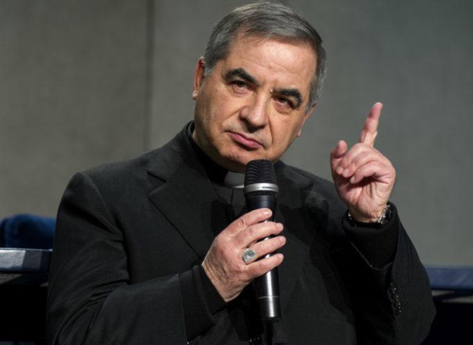 """La difesa del cardinalBecciu: """"Nessun reato, è tutto rendicontato"""""""