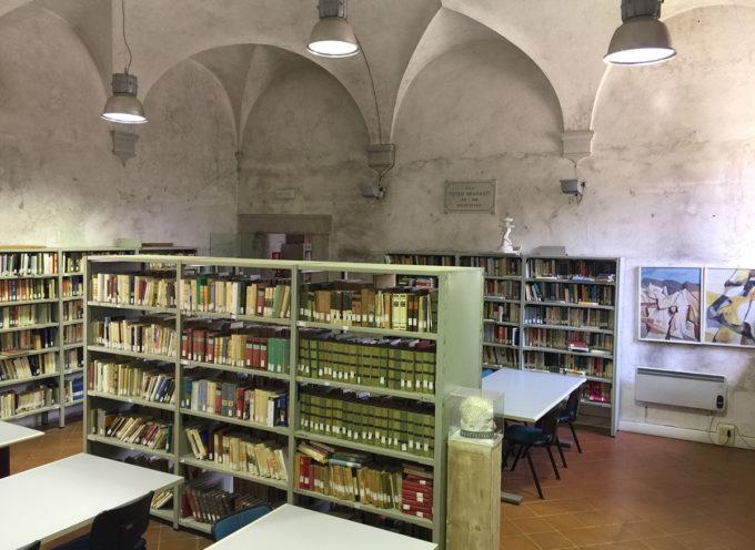 """libri per un valore di diecimila euro alla Biblioteca comunale """"Sirio Giannini"""""""