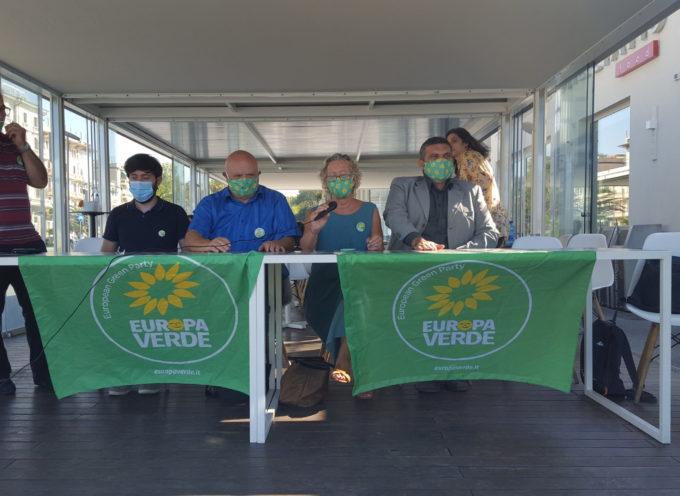 ieri a Viareggio i candidati di Europa Verde