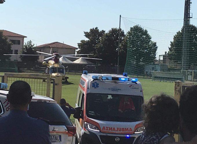 Seravezza – Incidente tra moto ed auto, il centauro trasportato con Pegaso in Ospedale. Notizia in aggiornaamento.