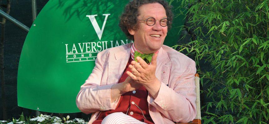 """La Versiliana si unisce al cordoglio per la scomparsa di Philippe Daverio : era stato più volte ospite degli """"Incontri al Caffè"""""""