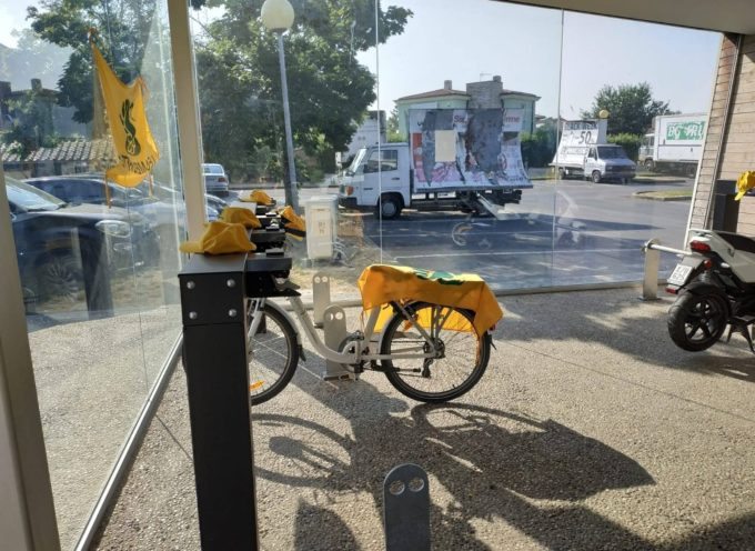 Torna il bike sharing in piazza Unità d'Italia a Porcari
