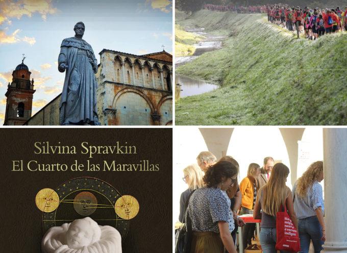 Pietrasanta365: dalla nuova mostra di Silvina Spravkin alla Francigena Tuscany Marathon, aspettando Libropolis e la novità Design-week