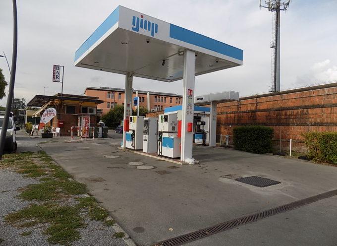 LUCCA – il distributore della marca petrolifera GIAP, gestione ANGELO MARCUCCI