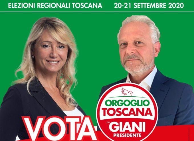 Ugo Da Prato candidato per Orgoglio Toscana per Giani Presidente incontra con Rosaria Sommariva gli imprenditori del settore lapideo al COSMAVE