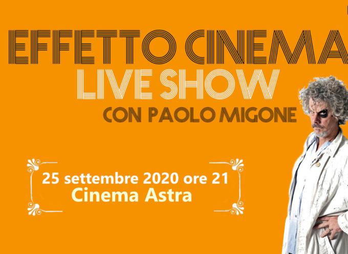 Effetto Cinema Live Show con Paolo Migone e la mostra-omaggio a Federico Fellini e Alberto Sordi