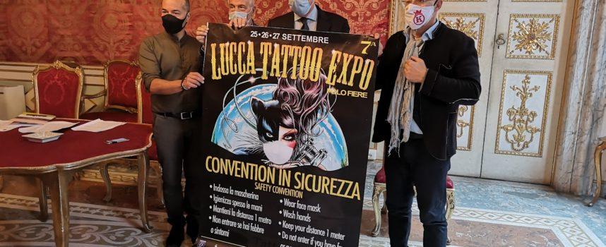 LUCCA TATTOO EXPO VIIa EDIZIONE 25-26-27 SETTEMBRE 2020 POLO FIERE LUCCA