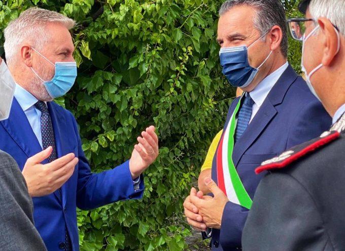 Il ministro della difesa a colloquio privato col sindaco di Porcari