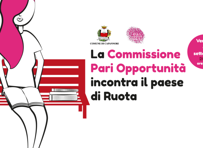 LA COMMISSIONE PARI OPPORTUNITA' INCONTRA LA COMUNITA' DI RUOTA INTORNO ALLA PANCHINA ROSSA