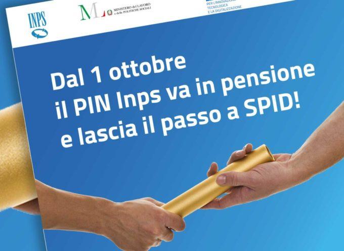 Dal 1° ottobre 2020 il PIN va in pensione e lascia il passo a SPID
