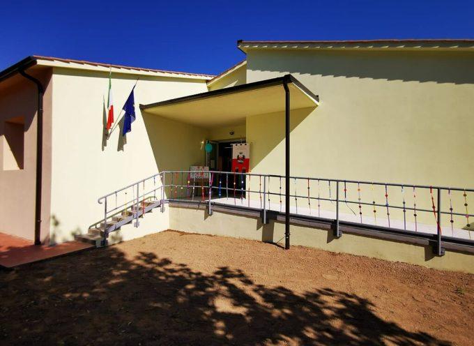 stamani la cerimonia di inaugurazione della scuola primaria 'Lorenzo Nottolini' di Guamo