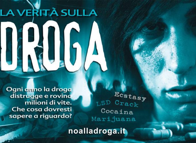 """I volontari di """"Un Mondo Libero dalla Droga"""" hanno trovato dei validi alleati nei negozianti del centro di Lucca,"""