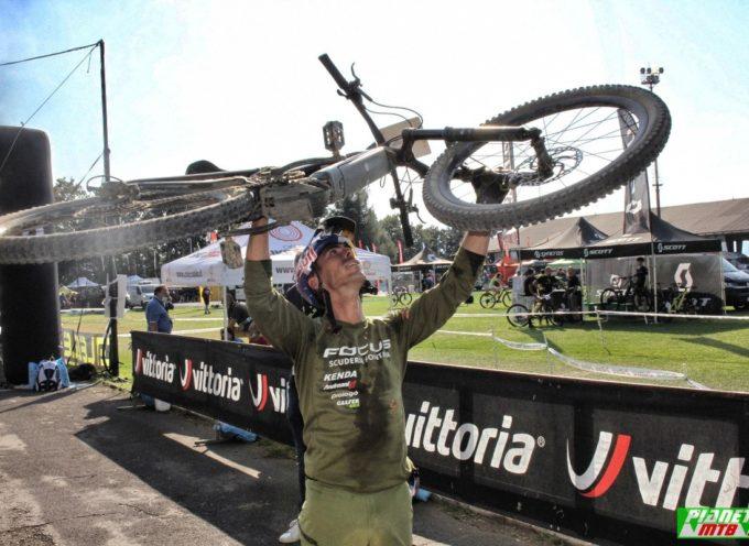 Marco Aurelio Fontana è il primo campione italiano di ebike al Ciocco