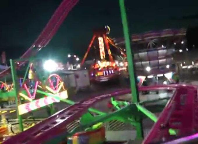 Luna Park chiuso per adeguamenti anti-Covid; forse riapre stasera