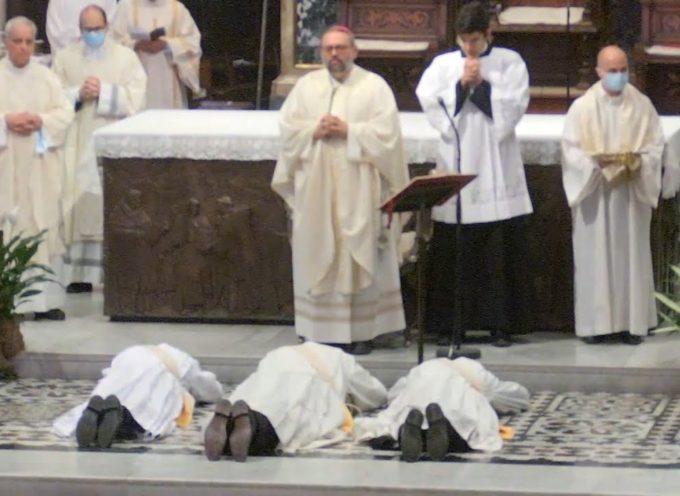Tre nuovi preti nella Diocesi di Lucca