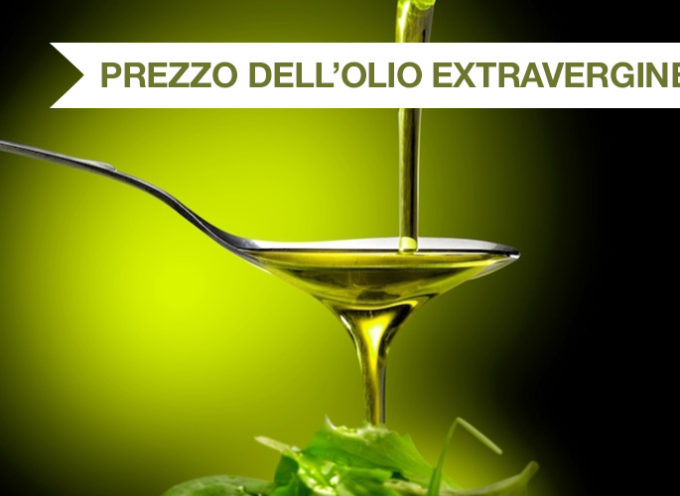 L'olio extravergine di oliva raggiunge i 4 euro/Kg sui massimi