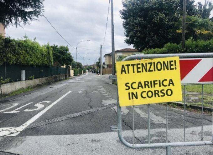 nuovo asfalto anche per via Umbria e tratto via Santini, in corso interventi in viale Apua e via Casone
