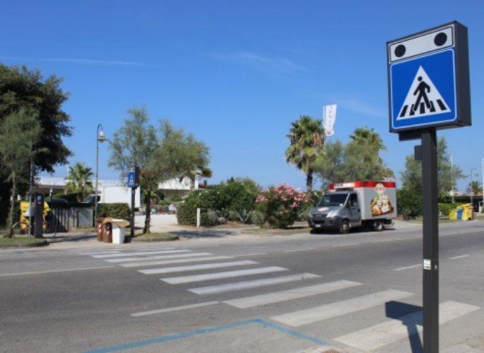 """unisce le """"due"""" Focette, in arrivo attraversamento intelligente salva pedoni sulla via Aurelia tra via Cavour e via De Amicis"""