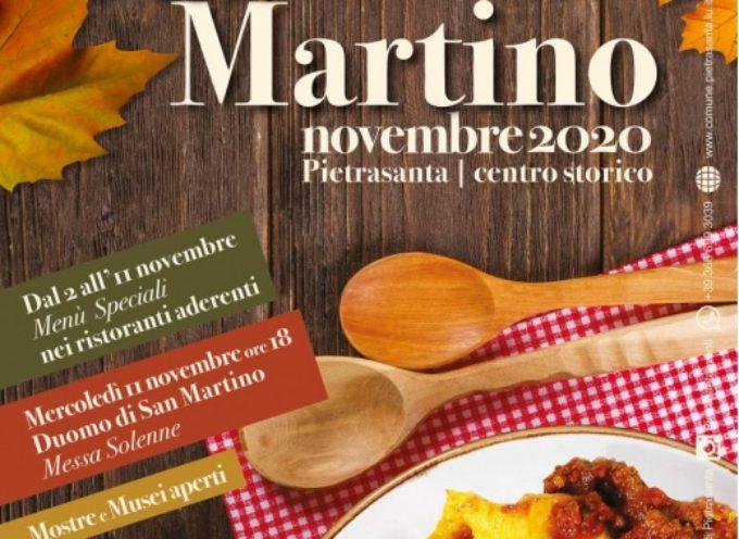 Tradizioni: San Martino è in…tavola, niente fiera (causa Covid) ma menu speciali nei ristoranti,
