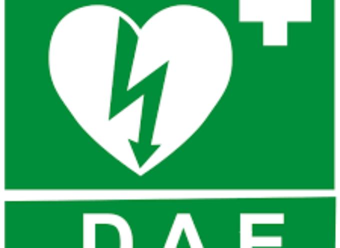 si inaugura un DAE (Defibrillatore Semiautomatico) a VALLICO SOTTO