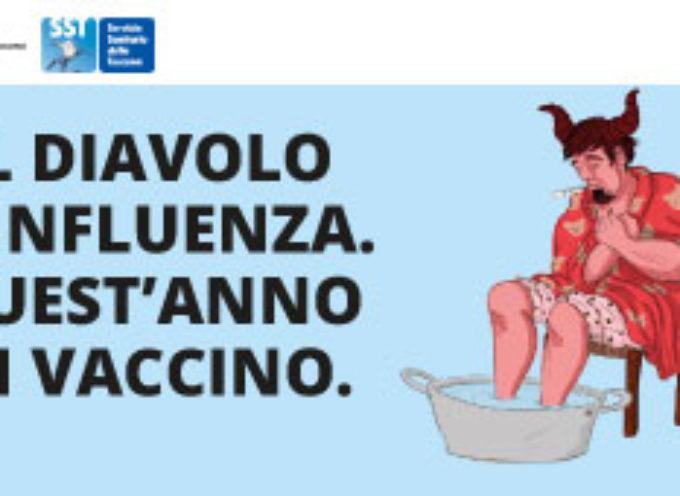 Vaccinazione AntiInfluenza: protegge dal virus stagionale e allontana dal sospetto #Covid_19.