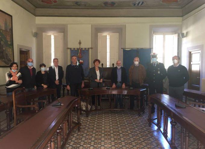 il Questore di Lucca Dott.ssa Alessandra Faranda Cordella è venuta in visita ai Bagni di Lucca