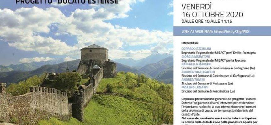 """""""La Garfagnana e il progetto Ducato Estense""""."""