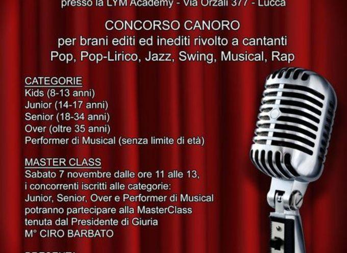 Il Premio Città di Lucca Elvi Bartolini, si terrà regolarmente il 7 ed 8 novembre,