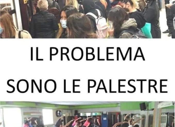 IN ERA COVID19 IL PROBLEMA SONO LE  PALESTRE …..